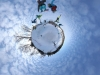 Snowboarding championship at Milzkalns