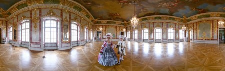 Virtual Tour of Rundale Palace