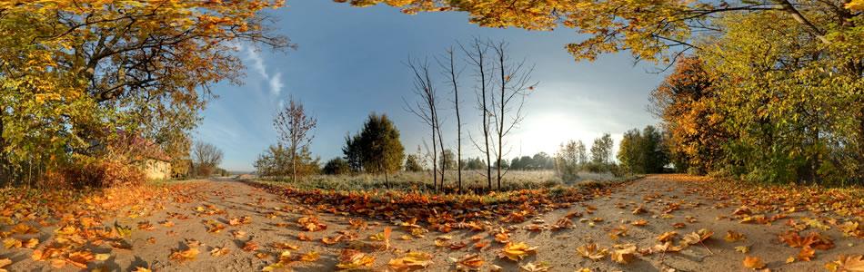 Rudens sajūtas, Atašiene, Latgale | 360 grādu panorāma