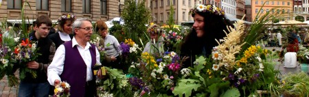 Midsummer Herbs and Grass Market at the Dome Square