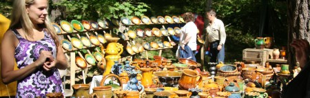 Crafts Fair at the Open-Air Ethnographic Museum
