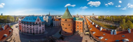 360° Aerial Virtual Tour of Riga